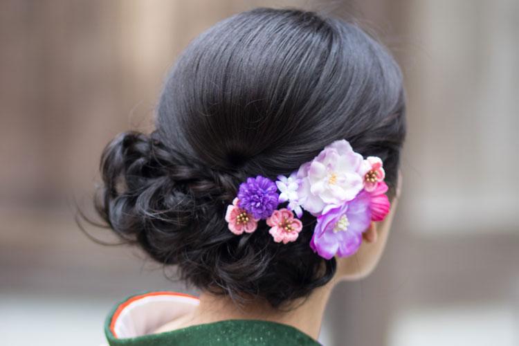 振袖の柄から選ぶ髪型!成人式写真におすすめの髪型カタログとやり方