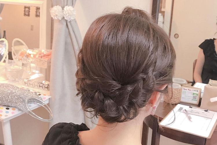 振袖の柄から選ぶ髪型!成人式写真におすすめの髪型カタログとやり方6