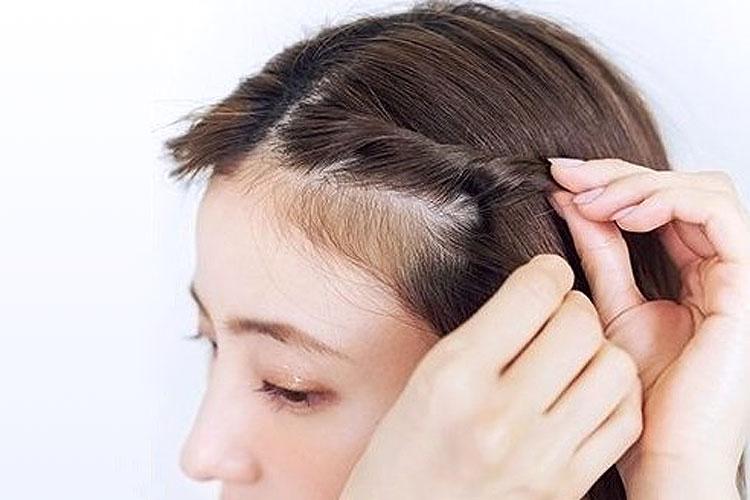 振袖の柄から選ぶ髪型!成人式写真におすすめの髪型カタログとやり方7