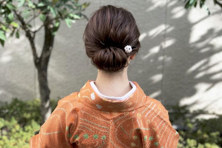振袖の柄から選ぶ髪型!成人式写真におすすめの髪型カタログとやり方8