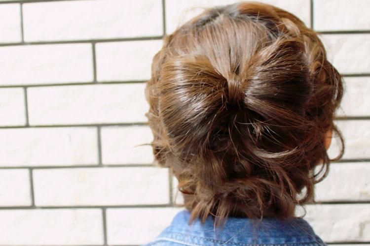 振袖の柄から選ぶ髪型!成人式写真におすすめの髪型カタログとやり方11
