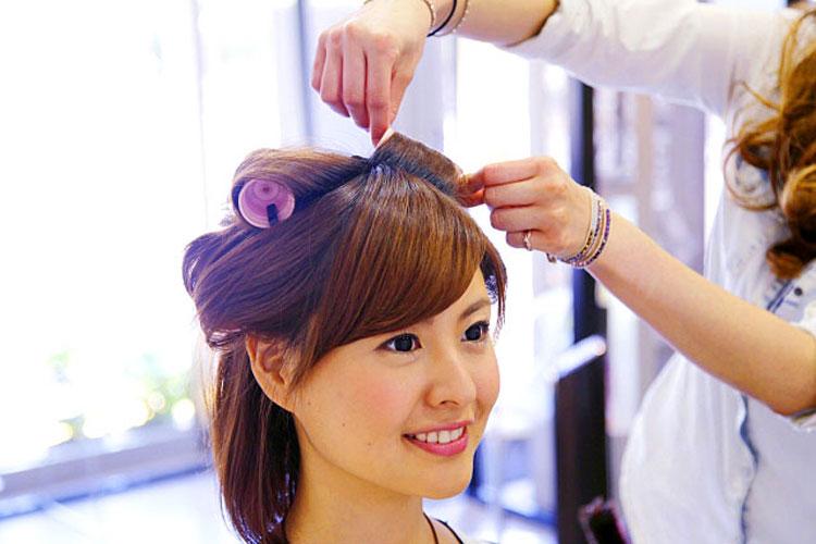 振袖の柄から選ぶ髪型!成人式写真におすすめの髪型カタログとやり方17