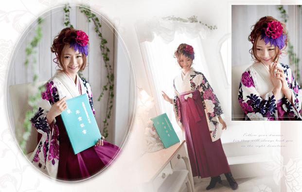 千葉県で卒業袴の写真撮影におすすめのスタジオ10選9