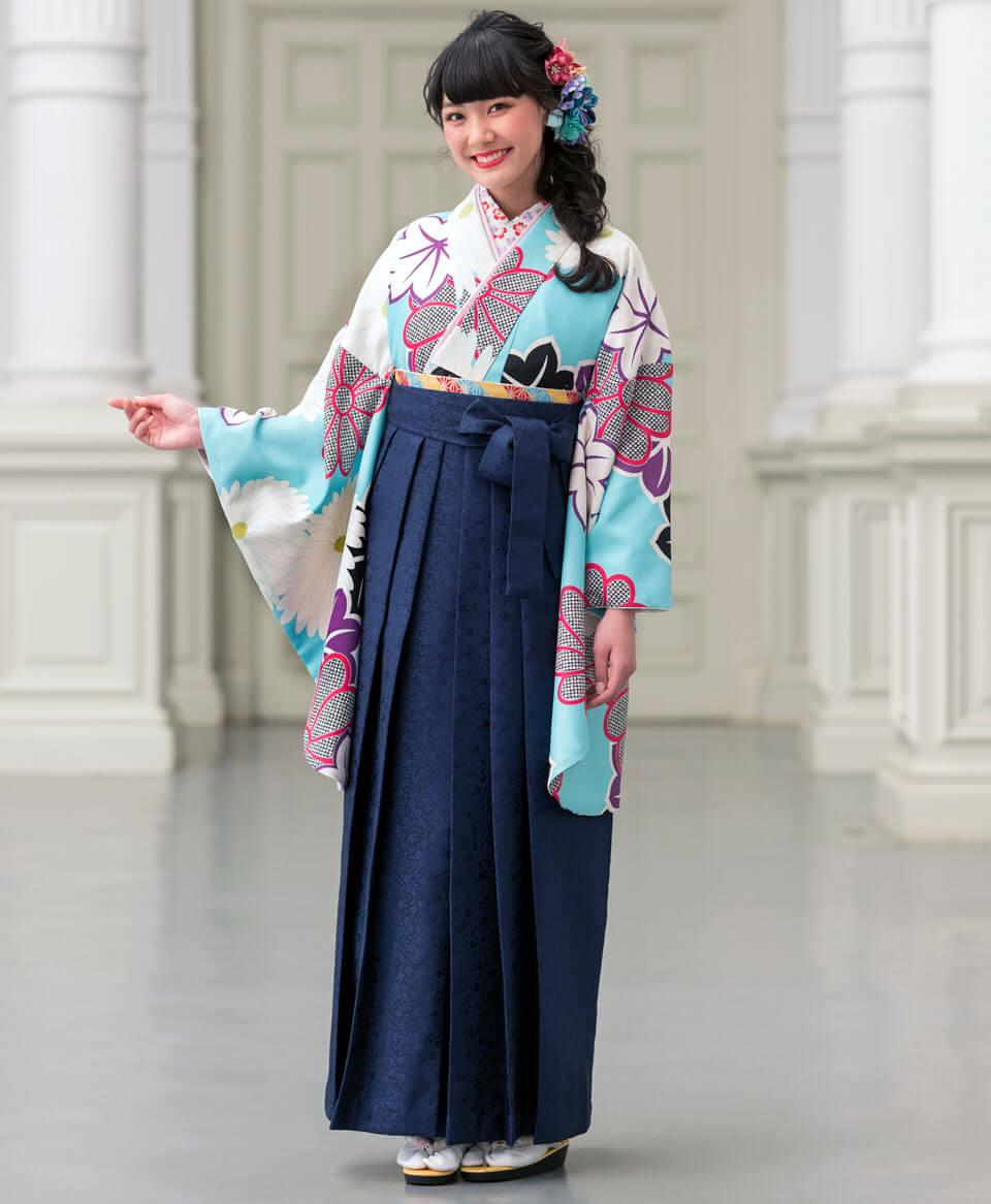 女子の卒業写真はどんな袴がおすすめ?卒業袴写真を徹底解説17