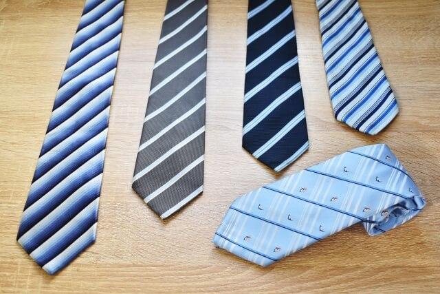 ビジネスプロフィール写真におすすめのネクタイや結び方を紹介13