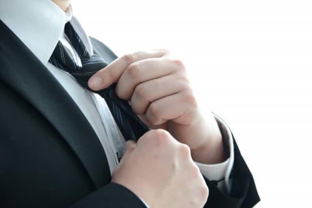 ビジネスプロフィール写真におすすめのネクタイや結び方を紹介14