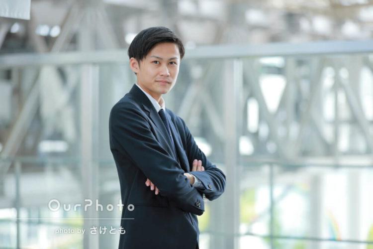 ビジネスプロフィール写真で好印象にするためのポーズを紹介2
