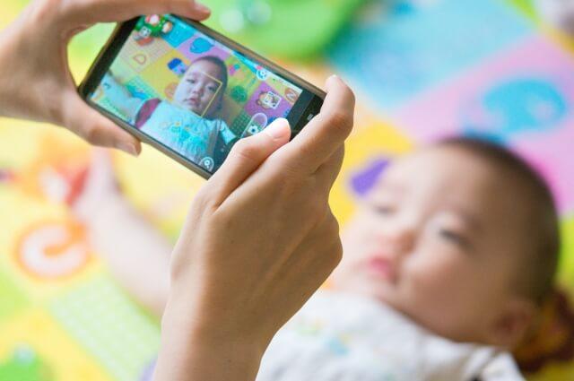 赤ちゃんのマイナンバー写真撮影は難しい!良い写真を撮るためのコツを紹介7