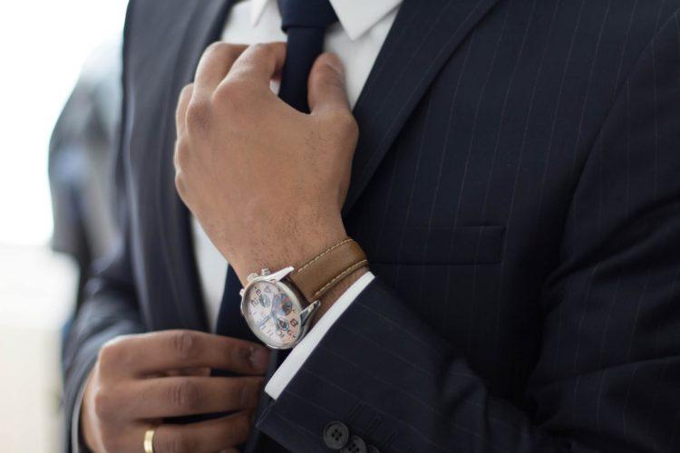 七五三写真でパパはネクタイ付けて!適した選び方やおすすめの結び方を紹介10
