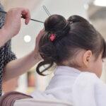 【七五三写真】3歳女の子のかわいい髪型とママでも簡単なお家でのセット方法