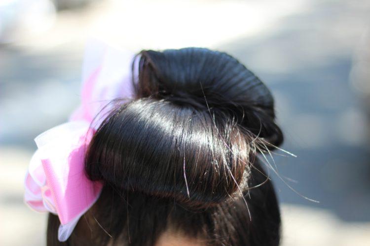 お団子アレンジで七五三写真をおしゃれに!似合う髪飾りも紹介3
