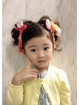 【3歳・7歳】七五三写真でかわいい女の子のヘアスタイルまとめ4