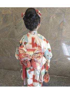 【3歳・7歳】七五三写真でかわいい女の子のヘアスタイルまとめ5