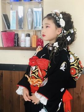 【3歳・7歳】七五三写真でかわいい女の子のヘアスタイルまとめ10