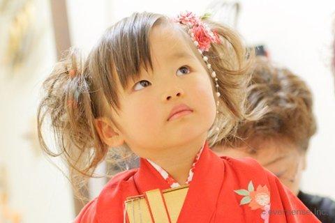 【七五三写真】3歳女の子のかわいい髪型とママでも簡単なお家でのセット方法7