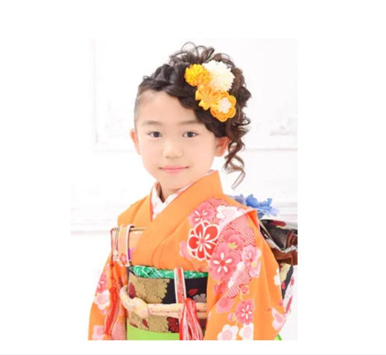 7歳女の子のおしゃれな七五三写真の髪型とセルフセット方法を長さ別に紹介11