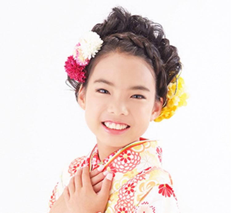 7歳女の子のおしゃれな七五三写真の髪型とセルフセット方法を長さ別に紹介12