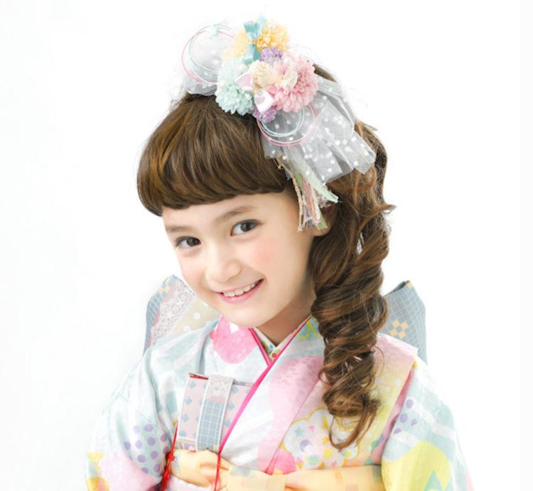 7歳女の子のおしゃれな七五三写真の髪型とセルフセット方法を長さ別に紹介8