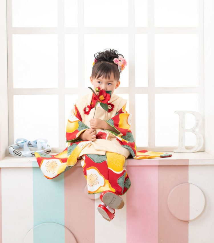 7歳女の子のおしゃれな七五三写真の髪型とセルフセット方法を長さ別に紹介9