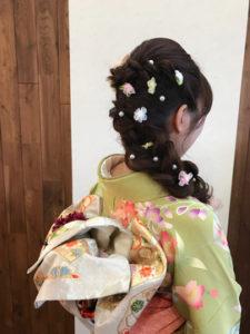 ロングの卒業袴写真におすすめの髪型とセルフセットのやり方&アレンジ3