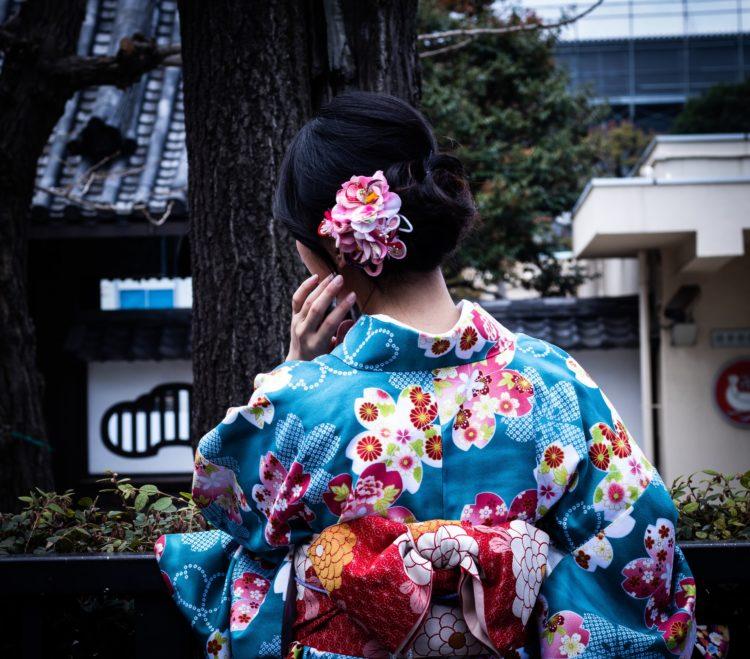 ロングの卒業袴写真におすすめの髪型とセルフセットのやり方&アレンジ1