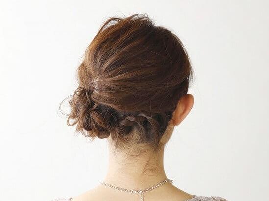 ミディアムの花嫁に人気のフォトウェディング髪型スタイル&髪飾り9