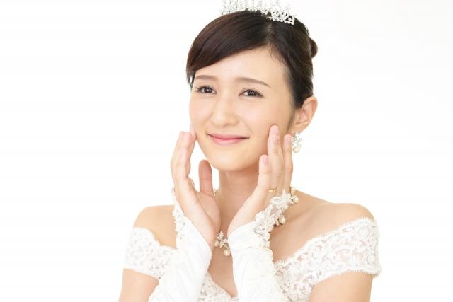 ミディアムの花嫁に人気のフォトウェディング髪型スタイル&髪飾り5