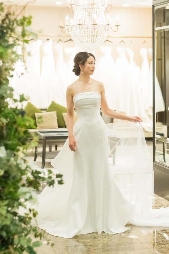 フォトウェディングの花嫁ドレス|形・色・ブランド・体型・年代別の選び方32