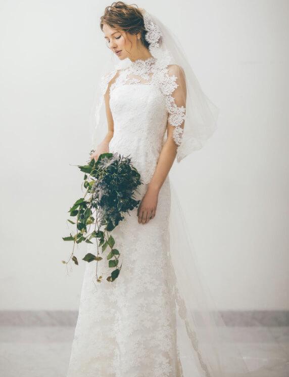 フォトウェディングの花嫁ドレス|形・色・ブランド・体型・年代別の選び方23