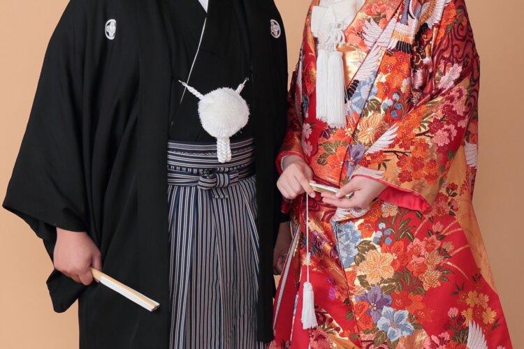 【長さ別】和装の花嫁に人気のフォトウェディングの髪型カタログ1