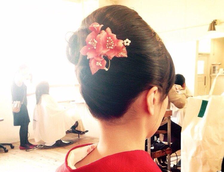 【長さ別】和装の花嫁に人気のフォトウェディングの髪型カタログ12