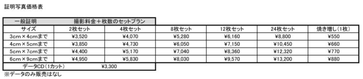 東京・銀座でおすすめの就活写真が撮影できる写真スタジオ11選20