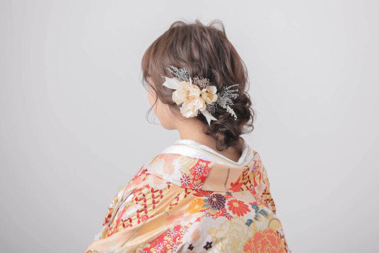 白無垢でフォトウェディングなら髪型は?伝統的なスタイルとセルフセット可な髪型を紹介18