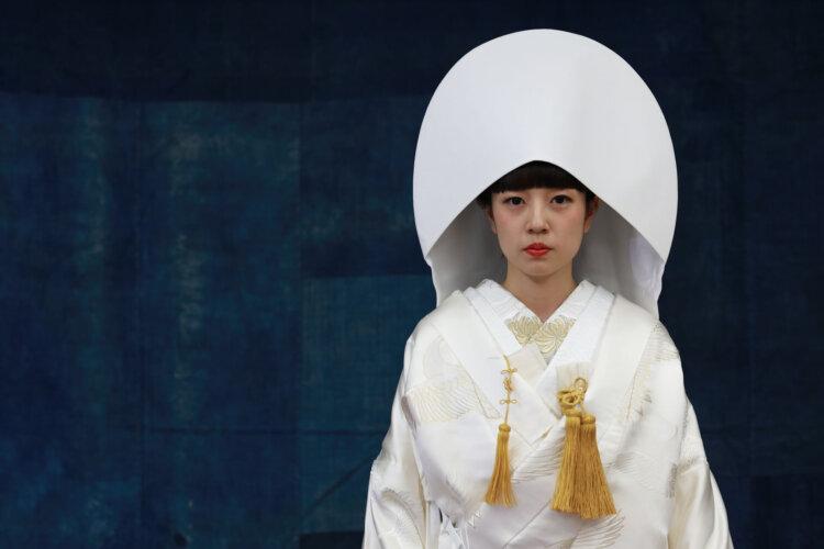 白無垢でフォトウェディングなら髪型は?伝統的なスタイルとセルフセット可な髪型を紹介3