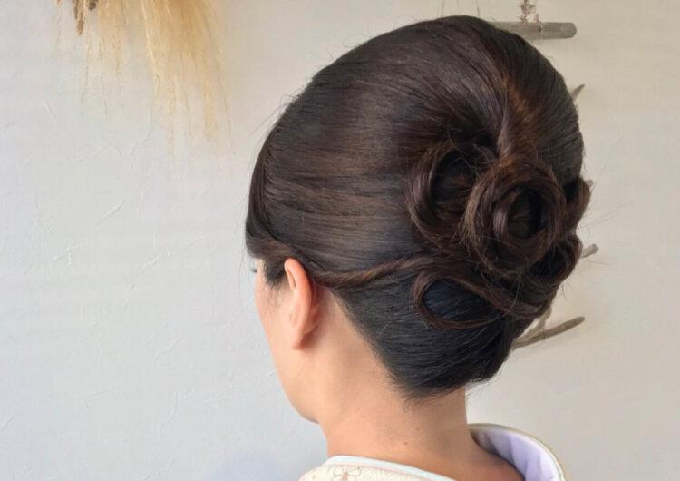 白無垢でフォトウェディングなら髪型は?伝統的なスタイルとセルフセット可な髪型を紹介19