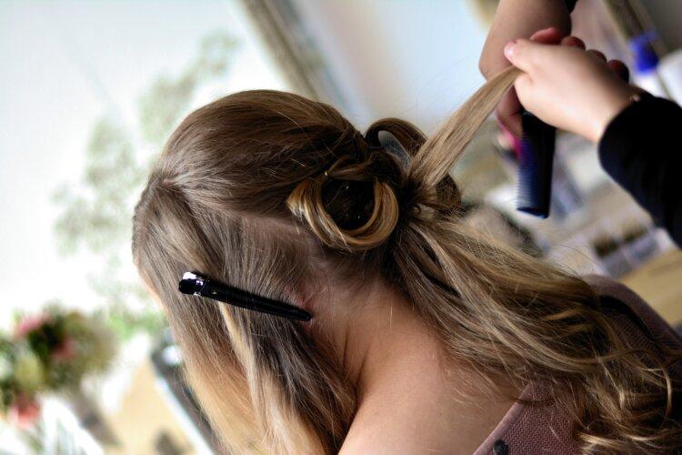 七五三写真の髪型は三つ編みで可愛く!お家で簡単セット方法を紹介7