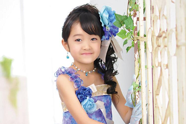 七五三のドレスに合う髪型は?お姫様になれる髪型のセット手順を解説5