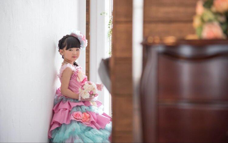 七五三のドレスに合う髪型は?お姫様になれる髪型のセット手順を解説1