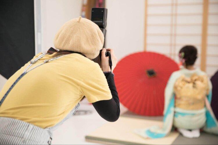 ロング女子の成人式写真の髪型は?かわいい・大人っぽいスタイルを紹介8