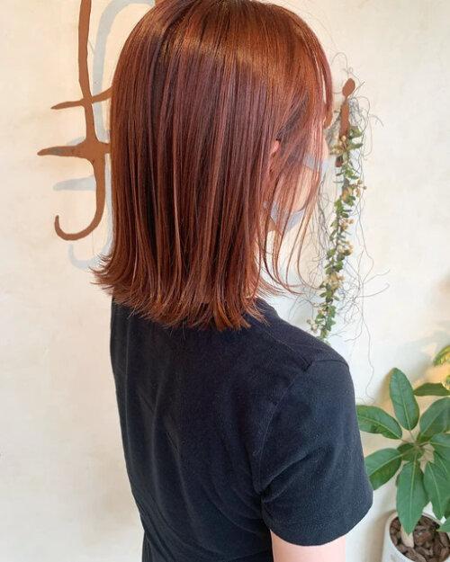 成人式写真の髪色は振袖の色から選ぶ!青赤緑白の振袖におすすめの髪色とは18