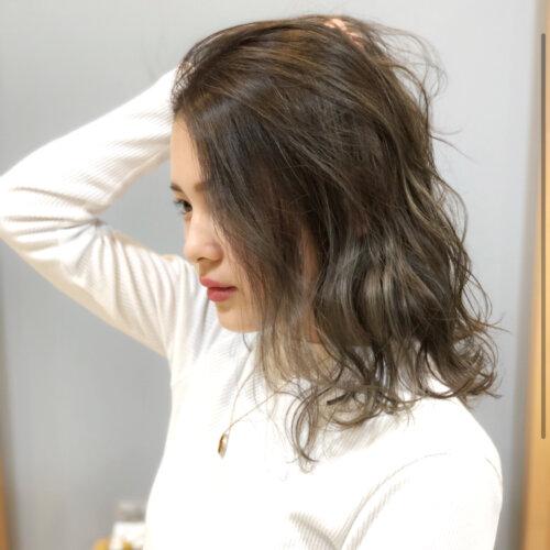 成人式写真の髪色は振袖の色から選ぶ!青赤緑白の振袖におすすめの髪色とは19