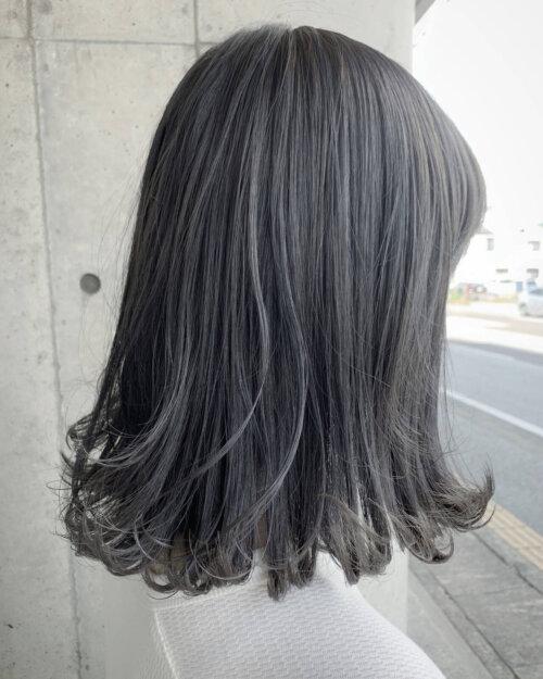 成人式写真の髪色は振袖の色から選ぶ!青赤緑白の振袖におすすめの髪色とは23