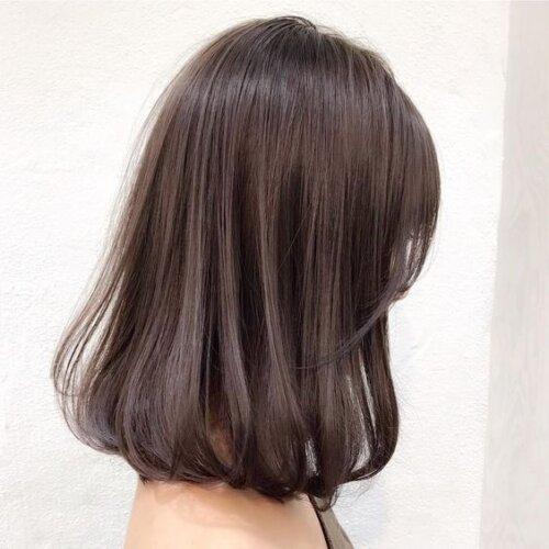 成人式写真の髪色は振袖の色から選ぶ!青赤緑白の振袖におすすめの髪色とは15