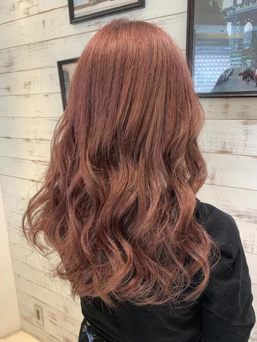 成人式写真の髪色は振袖の色から選ぶ!青赤緑白の振袖におすすめの髪色とは21