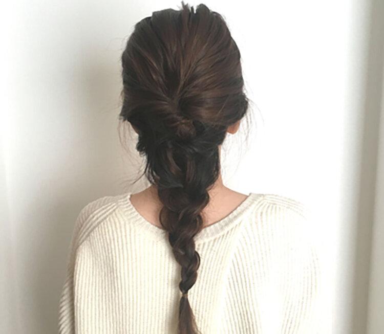 自分でできる!七五三写真のママの髪型を服装・長さ別にご紹介13