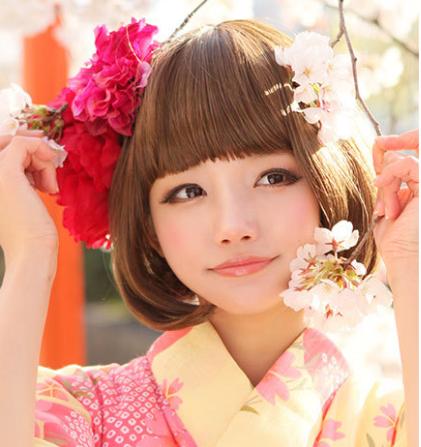 【女子】卒業袴の写真の「前髪」はどうする?アレンジ方法と前髪の疑問を解消5