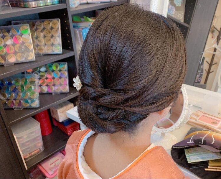自分でできる!七五三写真のママの髪型を服装・長さ別にご紹介4