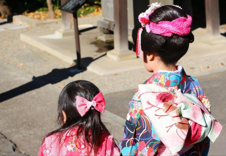 七五三写真の日本髪はお家でも結える!セット方法を詳しく解説6