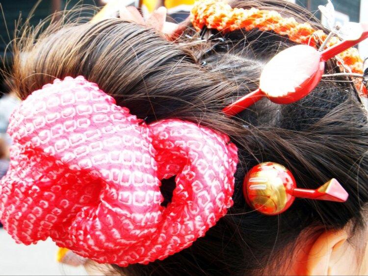 七五三写真の日本髪はお家でも結える!セット方法を詳しく解説3