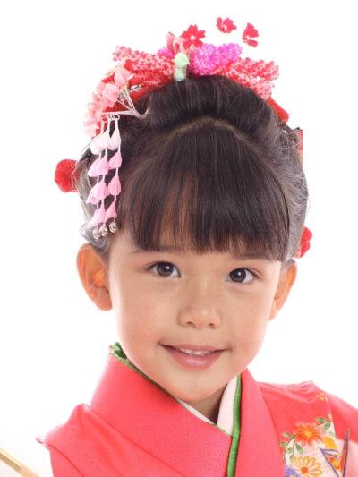 七五三写真の日本髪はお家でも結える!セット方法を詳しく解説4
